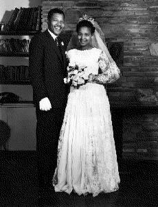With Nelson Mandela On Wedding Day